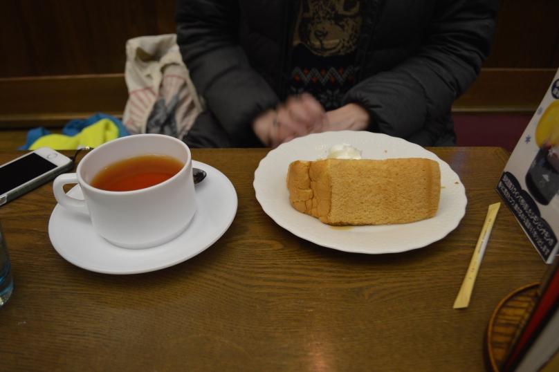 Lindsay's chiffon cake and tea set