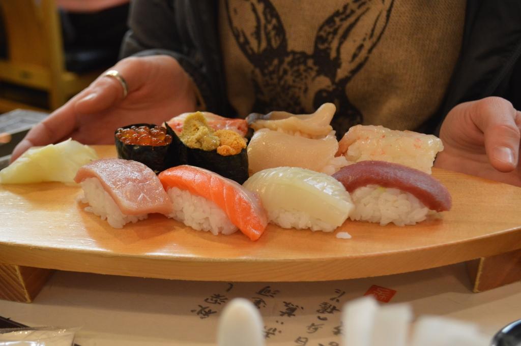 Lindsay's sushi set