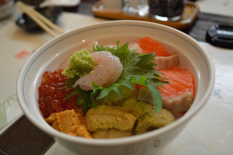 Bonnie's chirashi bowl