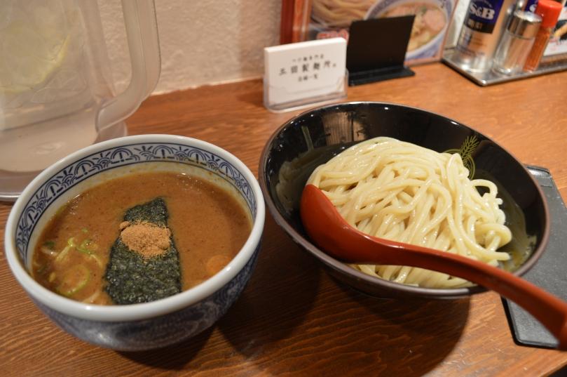Tsukemen from a chain restaurant Mita Seimen Ju