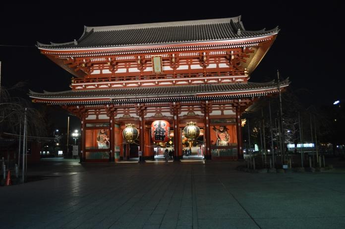 Senso-ji, a major tourist attraction in Asakusa