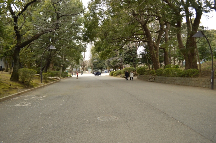 Strolling through Ueno Park