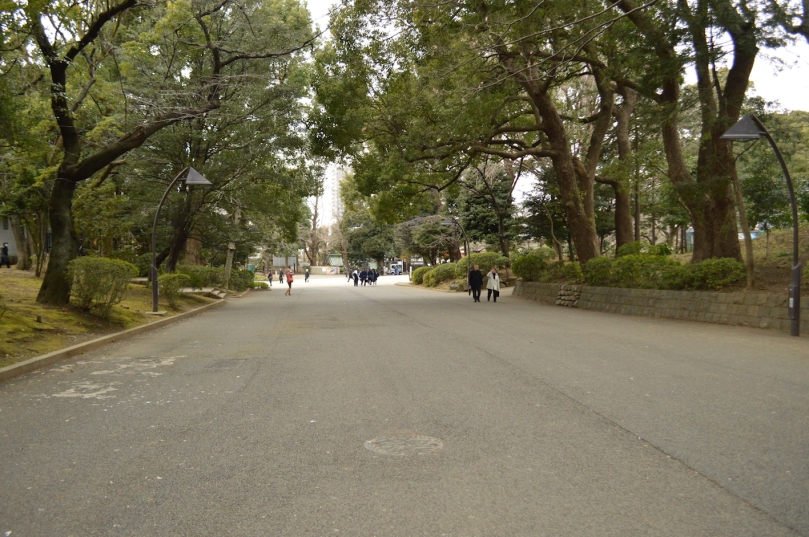 Strolling through Ueno Park