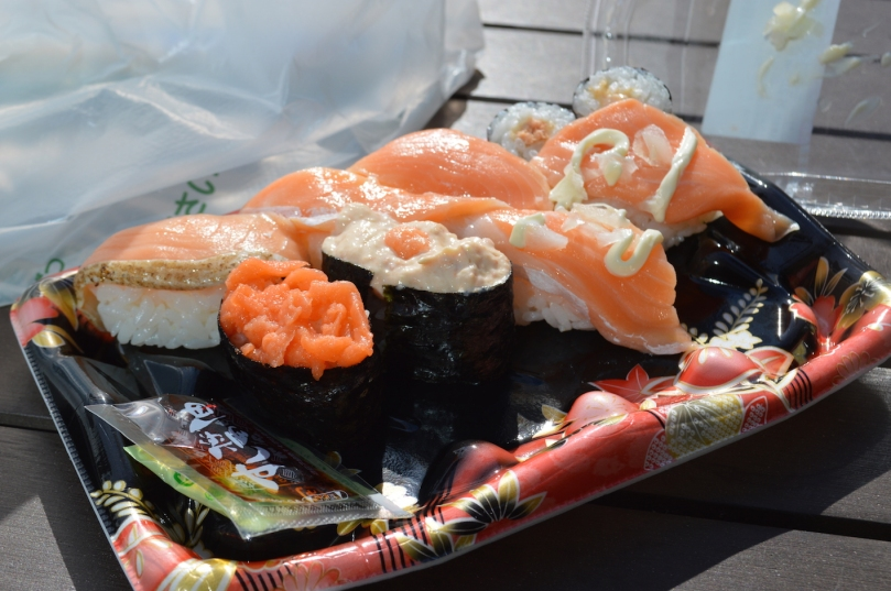 Konbini sushi from Family Mart- consistently cheap, fresh and delicious