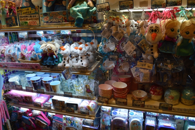 Japan is a country ridiculously obsessed with Frozen