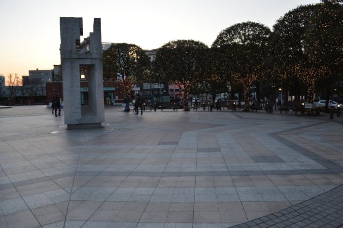 Ebisu Garden Place- where Domyouji waited for Tsukishi on their first date