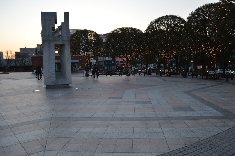 Ebisu Garden Place- where Domyouji waited for Tsukishi on their first date