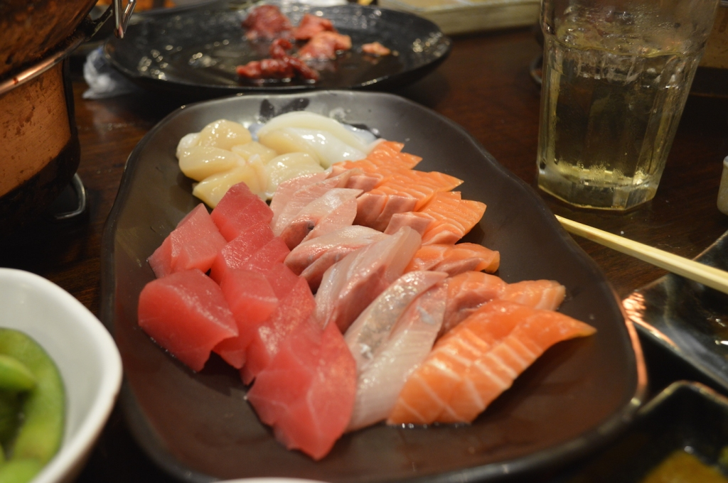 Can't think of many things better than all you can eat sashimi