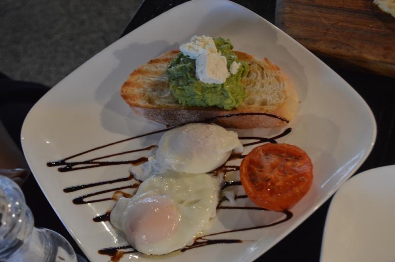 Smashed Avo on Sourdough toast ($14)