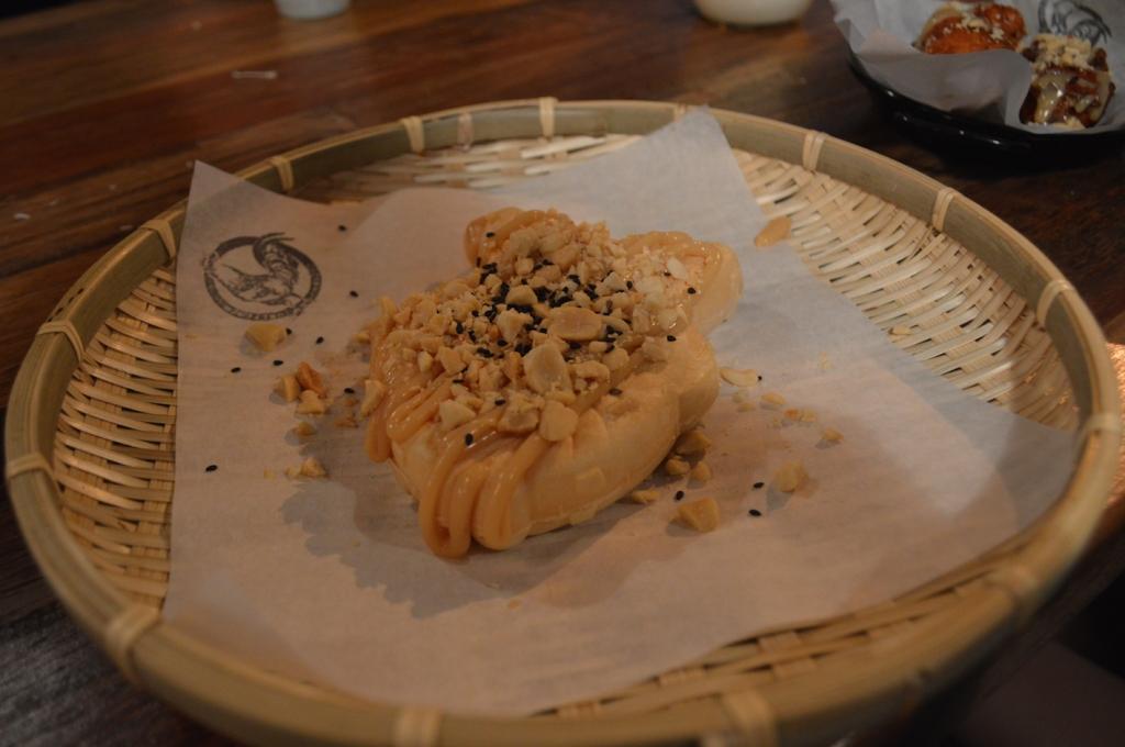 Gold fish ice cream waffle ($6)