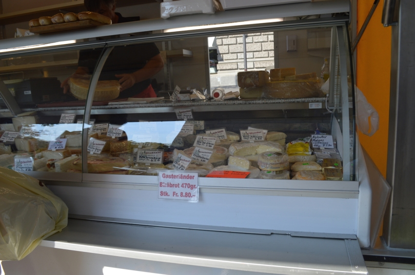 Buying cheese at the markets