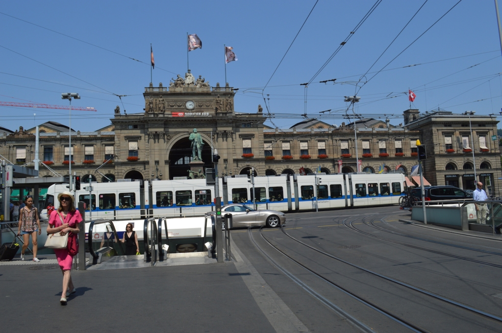 Central station in Zurich