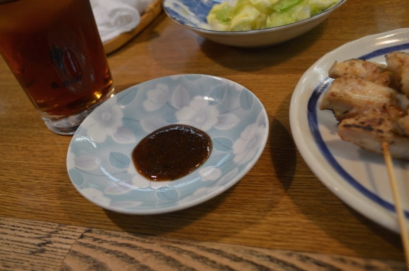 Tare dipping sauce for the yakitori