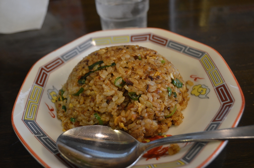 Side of fried rice that came with the ramen