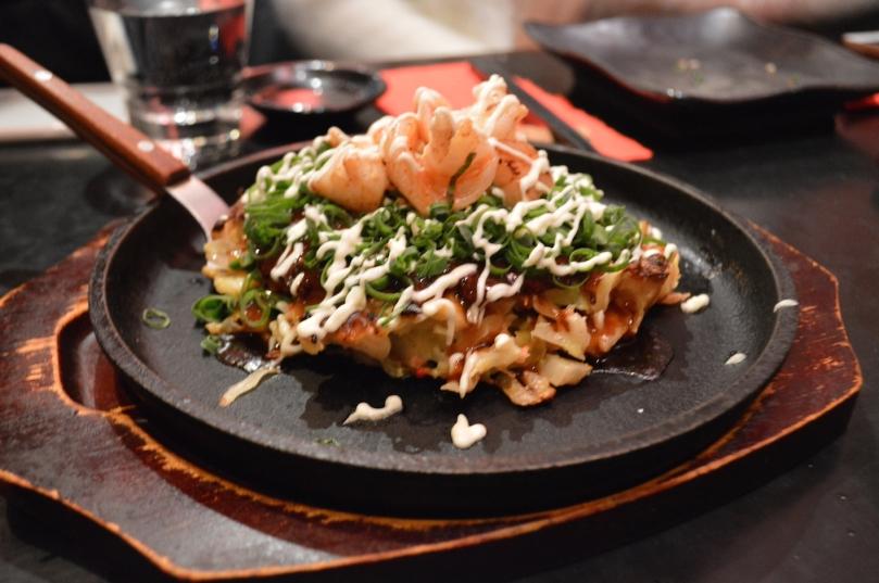Jugemu Specials Okonomiyaki ($22)