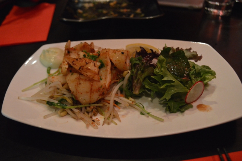 Spicy Calamari ($16)