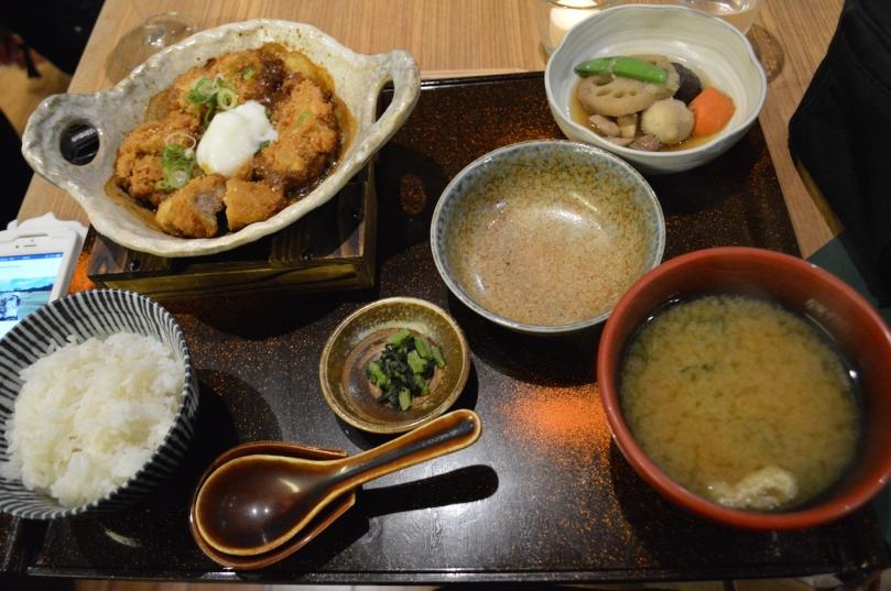 Miso Pork Fillet Katsu Teishoku ($30)