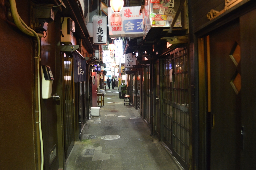 Strolling around Longbay Yokocho