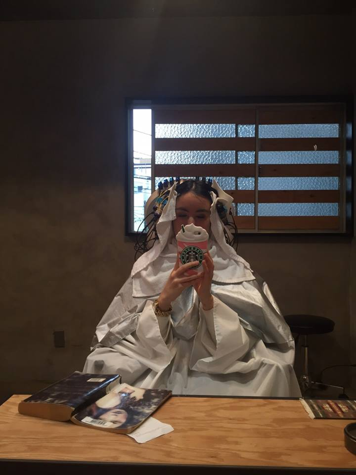 japanese hairdressers travel japan