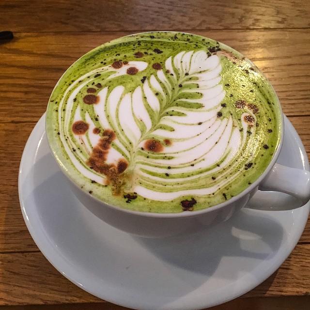 military latte streamer coffee company tokyo